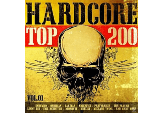 VARIOUS - Hardcore Top 200 Vol.1 - (CD)