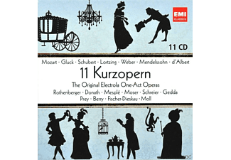 VARIOUS - 11 Kurzopern - The Original Electrola One-Act-Operas [CD]
