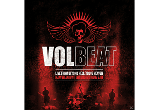 Volbeat LIVE FROM BEYOND HELL/ABOV Heavy Metal CD