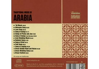 Various - Traditional Music Of Arabia - (CD)