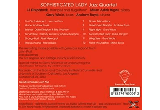 Sophisticated Lady Jazz Quartet - Jazz Quartet - (CD)