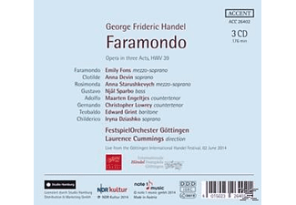 Cummings/Festspielorchester Göttingen/Fons/Devin/+ - Faramondo Hwv 39 [CD]