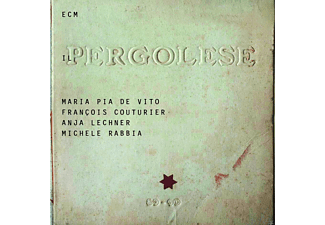 Michele Rabbia, Anja Lechner, Francois Couturier - Il Pergolese - (CD)