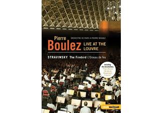Boulez, Pierre/Orchestre De Paris - Live At The Louvre-Der Feuervogel - (DVD)