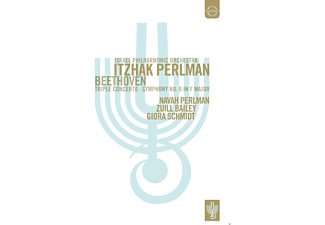 Navah Perlman, Zuill Bailey, Giora Schmidt, Israel Philharmonic Orchester - Triple Concerto / Symphony No. 6 In F Major - (DVD)