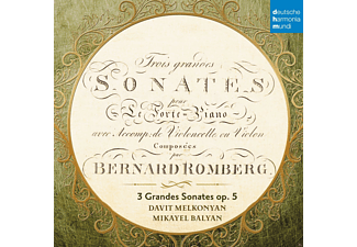 Davit Melkonyan, Mikayel Balyan - Sonatas For Fortepiano And Cello, Op. 5 [CD]