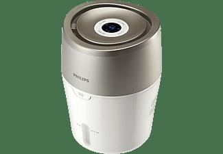 PHILIPS HU 4803/01, Luftbefeuchter, Weiß/Grau/Metallic