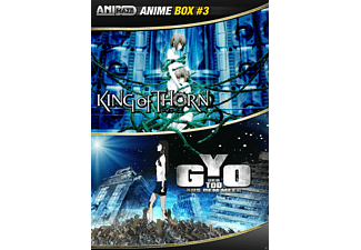 King of Thorn + Gyo - Der Tod aus dem Meer (Anime Box #3) - (DVD)
