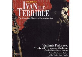 VARIOUS, Yurlov State Capella, Tschaikowsky Symphony Orchestra - Ivan The Terrible - The Complete Music For Eisenstein's Film - (CD)