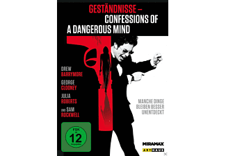 Geständnisse - Confessions of a Dangerous Mind - (DVD)