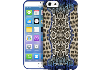 JUST CAVALLI CAV-112102, Backcover, iPhone 6, Python Leopard Blue