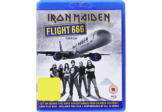 Iron Maiden - Flight 666 - The Film - (Blu-ray)