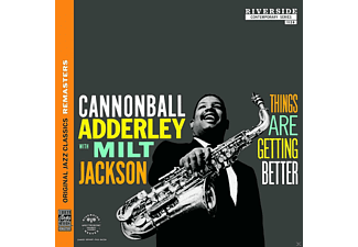 Cannonball Adderly, Milt Jackson - THINGS ARE GETTING BETTER (OJC REMASTERS) [CD]