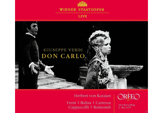 VARIOUS, Wiener Staatsopernorchester - Don Carlo (Live Recording 1979) - (CD)