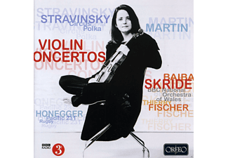 Baiba Skride, Thierry Fischer, Bbc National Orchestra Of Wales - Violin Concertos - (CD)