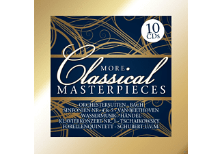 Various Orchestra - More Classical Masterpieces (10 Cd Box) - (CD)