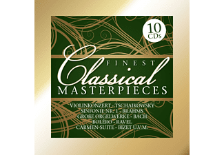 Various Specialty Artists, Various Orchestra - Finest Classical Masterpieces (10 Cd Box) - (CD)