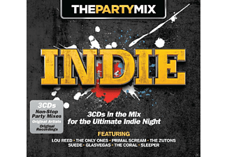 VARIOUS - The Party Mix: Indie - (CD)