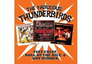 The Fabulous Thunderbirds - TUFF ENUFF/ROLL OF THE DICE/HOT NUMBER - (CD)