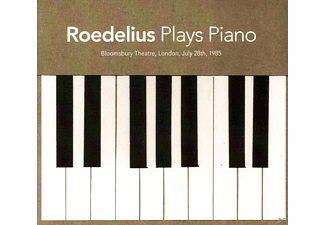Roedelius - Plays Piano - (CD)