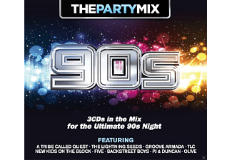 VARIOUS - Party Mix 90's - (CD)
