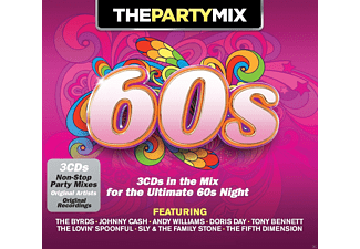 VARIOUS - Party Mix 60's - (CD)