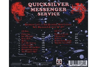 Quicksilver Messenger Service - Live At The Quarter Note Lounge 26.07.77 - (CD)