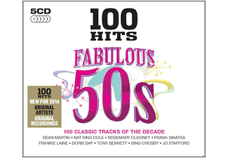 VARIOUS - 100 Hits - Fabulous 50's - (CD)