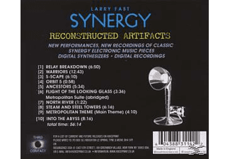 Larry Fast Synergy - Reconstructed Artifacts - (CD)