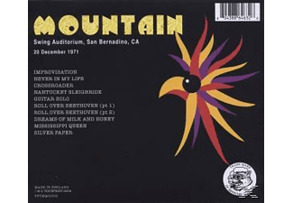Mountain - Live In San Bernadino 1971 - (CD)