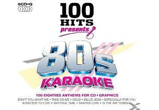 VARIOUS - 100 Hits Presents: 80's Karaoke - (CD)