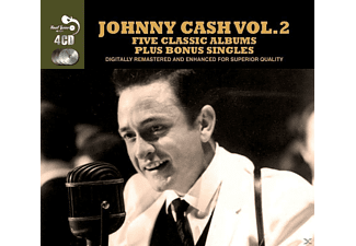 Johnny Cash - 5 Classic Albums Plus - (CD)