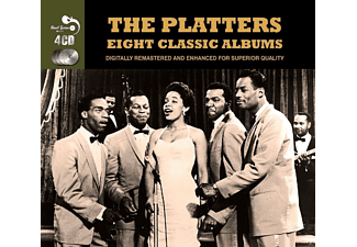 The Platters - Eight Classic Albums (4 Cd Box) - (CD)