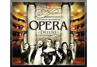VARIOUS - The Great Masters Of Opera Deluxe - (CD)
