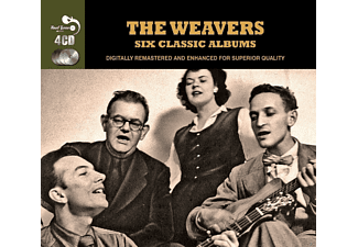 The Weavers - 6 Classic Albums - (CD)