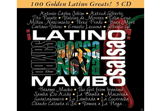 VARIOUS - 100 Golden Latino Greats [CD]