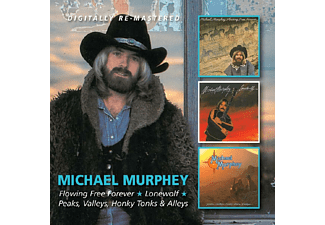 Michael Murphy - Flowing Free Forever/Lonewolf/Peaks, Valleys [CD]