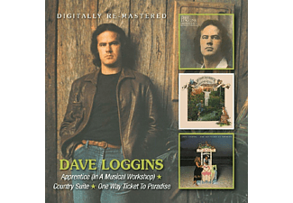 Dave Loggins - Apprentice / Country Suite / One Way Ticket To Paradise - (CD)