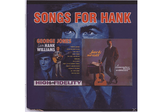 George Jones, Jack Scott - Songs For Hank - (CD)