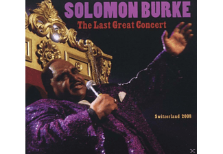 Solomon Burke - The Last Great Concert - Switzerland 2008 - (CD)