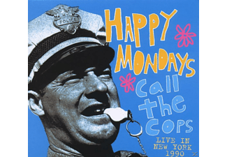 Happy Mondays - Call The Cops-Live In New York 1990 [CD]
