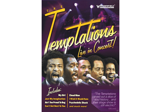 The Temptations - Live In Concert! [DVD]