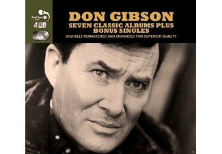 Don Gibson - 7 Classic Albums Plus Bonus Singles (4 CD Box) - (CD)