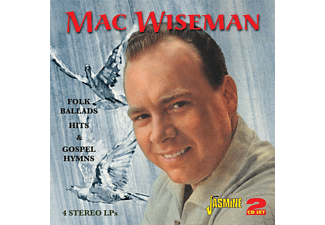 Mac Wiseman - Folk Ballads Hits & Gospel - (CD)