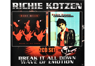 Richie Kotzen - Break It All Down / Wave Of Emotion - (CD)