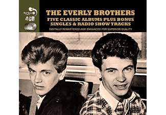 The Everly Brothers - 5 Classic Albums Plus Bonus Singles & Radio Show Tracks - (CD)