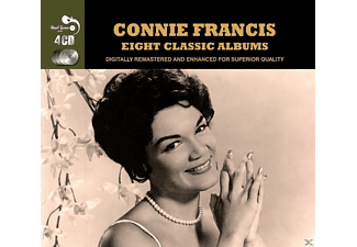 Connie Francis - Eight Classic Albums - (CD)