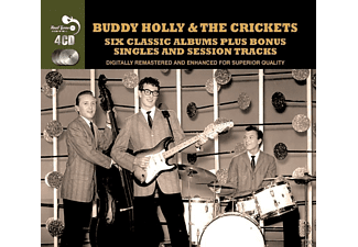 Buddy Holly, The Crickets - 6 Classic Albums Plus - (CD)