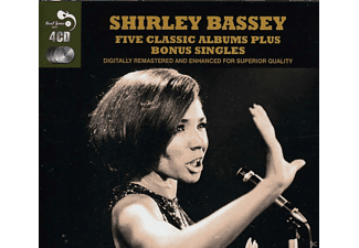 Shirley Bassey - Five Classic Albums Plus Bonus Singles [CD]