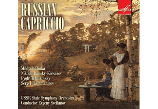 Ussr State Symphony Orchestra - Russian Capriccio - (CD)